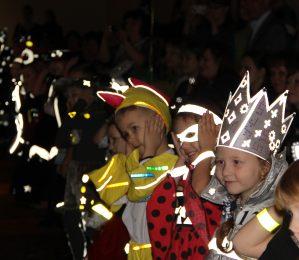 В Костромской области конкурс на лучшую одежду со световозвращателями завершился «Светящимся карнавалом»